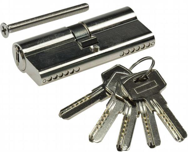 Sicherheitszylinder 70mm 35/35 mit 5 Sicherheits-Schlüsseln